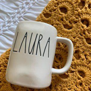 Rae Dunn LAURA Mug Name Mug Personalized Coffee